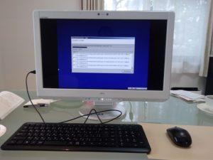 ESPRIMO FH98/CM データバックアップ01
